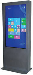 "Portrait 55"" Touchscreen Kiosk"