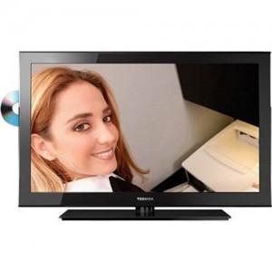 32″ LED Toshiba Built-in-DVD Display Rental