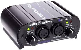 USB Dual Microphone Pre-Amp Rental