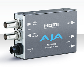 AJA HD-SDI/SDI to HDMI Video and Audio Converter Rental