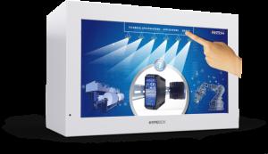 55″ Interactive Transparent HYPEBOX Rental
