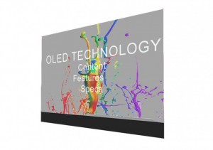 55″ Transparent OLED Display Rental