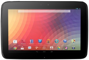 Google Nexus 10″ Tablet Rental