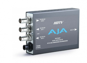 AJA HD/SD 8-Channel AES Embedder/Disembedder Rental