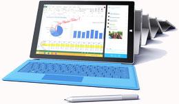 Surface Pro 3 Rental