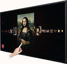 "LG 84"" Ultra HD 4K Multi-Touch Display Rental"