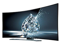 65″ Samsung Ultra HD 4K Curved Active 3D Smart TV LED Display Rental