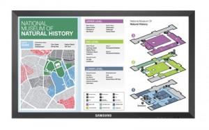 46″ Samsung LCD 10-PT TouchScreen Display Rental