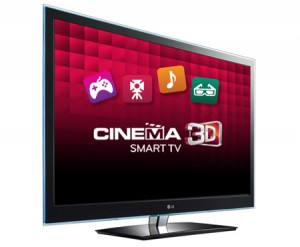 65″ LED LG Passive 3D Smart TV Consumer Rental