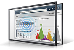 40″ Samsung  LED 10-PT Touchscreen Rental