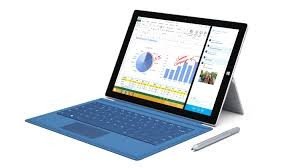 Microsoft Surface Pro 3 Tablet Rental