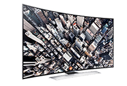 78″ Samsung Ultra HD 4K Curved Active 3D Smart TV LED Display Rental