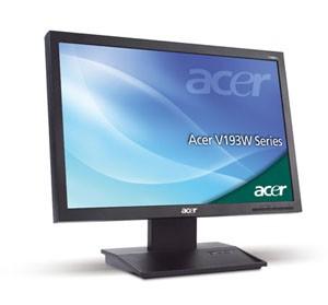 19″ Wide LCD Acer Display Rental