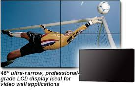 46″ NEC Ultra-Narrow LCD (X462UN) Display Rental