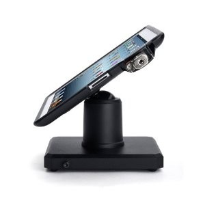 iPad Locking Table Stand Kiosk Rental (Black)
