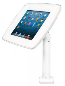 Lilitab Counter Stand Kiosk Rental (White)