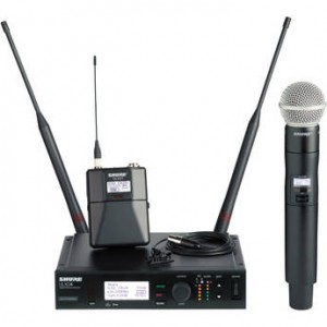 ULXD4 Digital Wireless UHF Combo Kit Rental