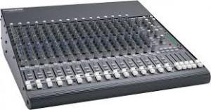 16 Channel Mixer Rental