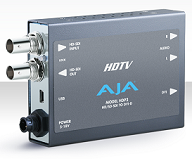 AJA HDP2 Mini HD-SDI/SDI to DVI-D Converter Rental