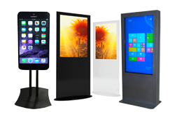 Indoor Kiosk Solution Rentals