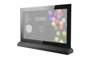55″ Transparent 40-Pt Touch OLED Display Rental