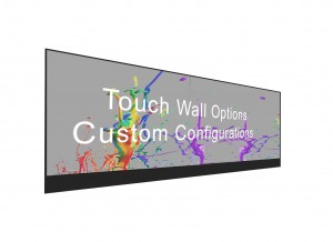 55″ Transparent 32-Pt Touch OLED Video Wall Rental