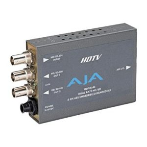 AJA HD/SD 8-Channel AES Embedder/Disembedder Rental