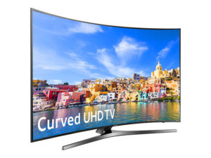 43″ Samsung Ultra HD 4K Curved Smart TV LED Display Rental