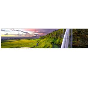 246″ 20.1′ W x 4′ H LED Touchscreen Video Wall Rental