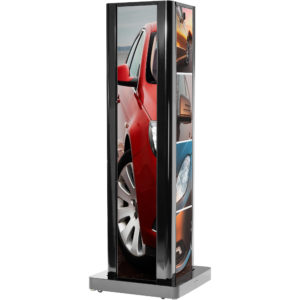 86″ Double LG Ultra HD Stretch LED Display Rental